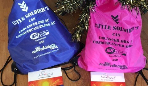 2x great Kid's Bags of Goodies up for grabs for Christmas!