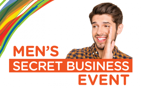 Men's Secret Business Event Workshop – Wednesday 26th April, 6:30pm