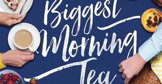Our BIGGEST MORNING TEA!
