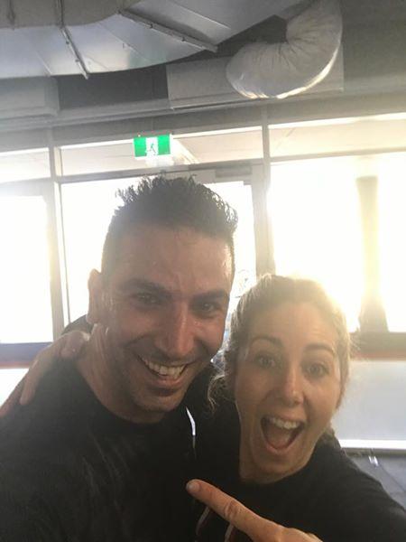 Dr Soroush & Sasha from F45 Bassendean!
