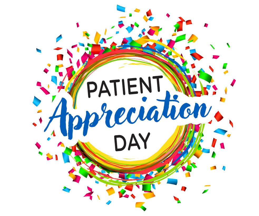 You're invited to our PATIENT APPRECIATION DAY on SUNDAY 25 FEB.!