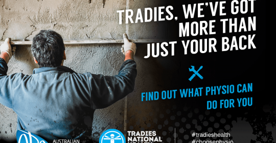 TRADIES NATIONAL HEALTH MONTH is here
