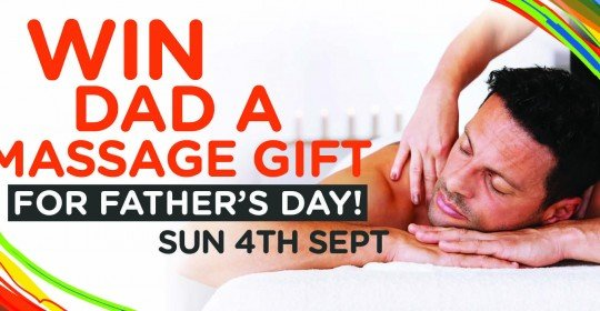 FATHER'S DAY MASSAGE GIFT COMPETITION!
