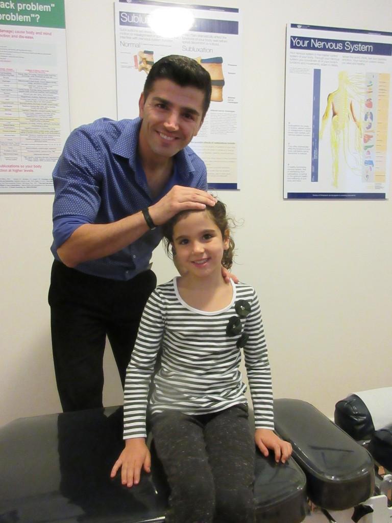Dr Mehdi and Soroush's daughter