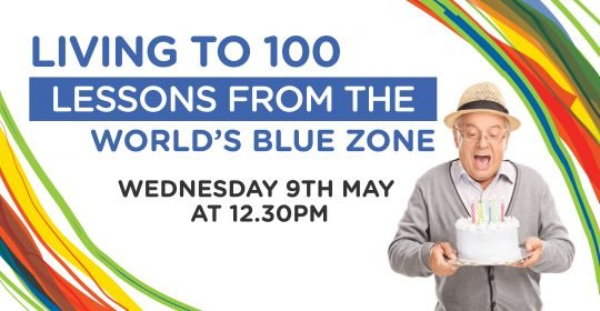 Living to 100: Lessons from the World's Blue Zone (Lunchtime Q&A)