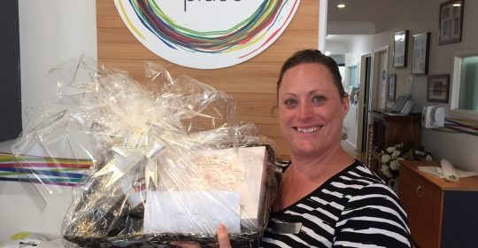 Congratulations to our Mother's Day Pamper Gift Basket Prize Winner!